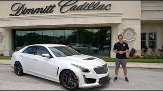 Why is NOW the time to BUY a 2019 Cadillac CTS-V?