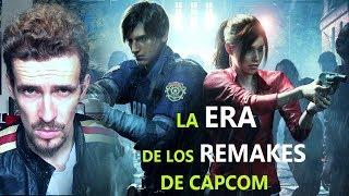 -CAPCOM PREPARA NUEVOS REMAKES - RESIDENT EVIL 3 , DINO CRISIS, CODE VERONICA....