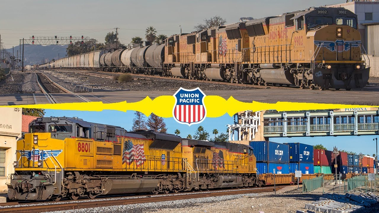 Union Pacific S Gateway To Los Angeles Railfanning Pomona And