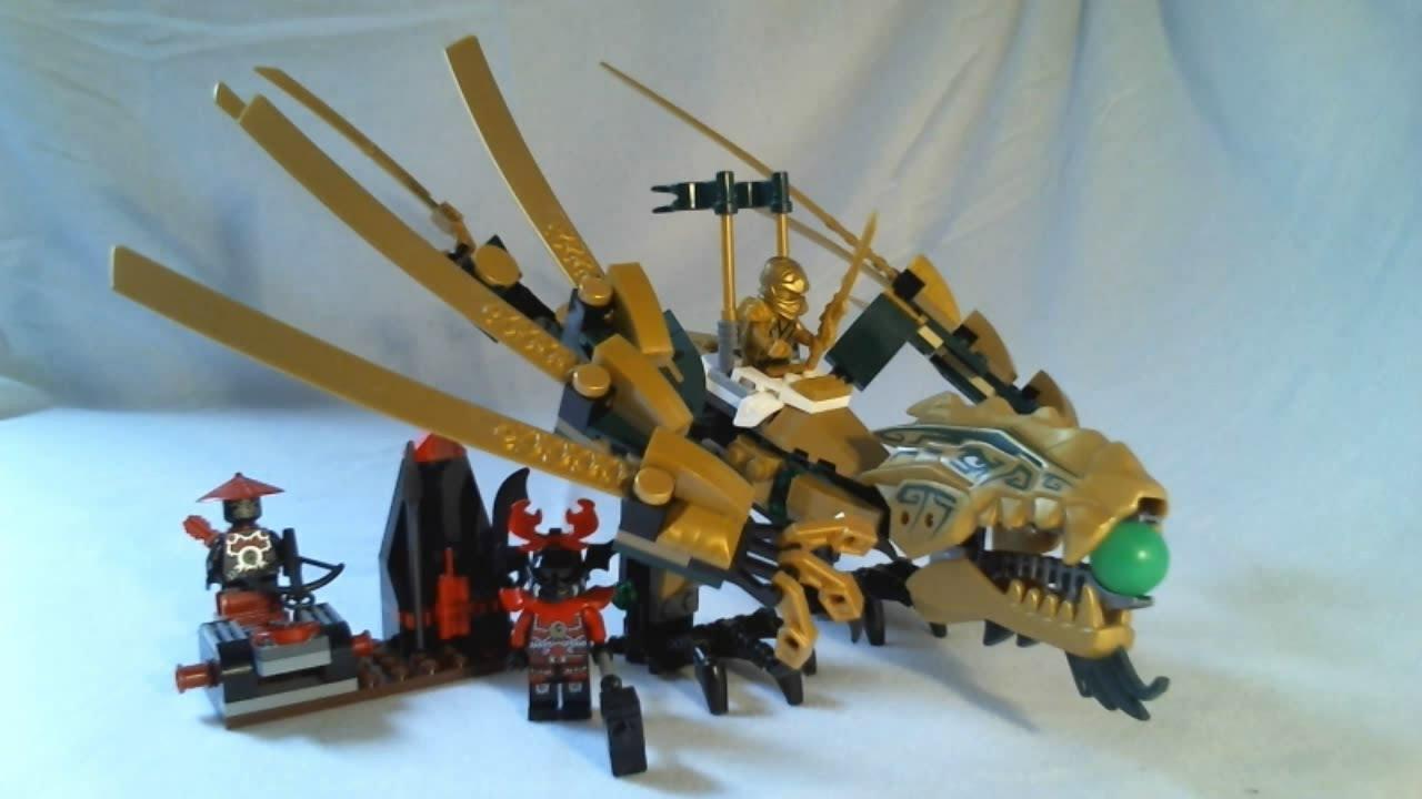 Lego ninjago video review the golden dragon fran ais youtube - Ninjago dragon d or ...