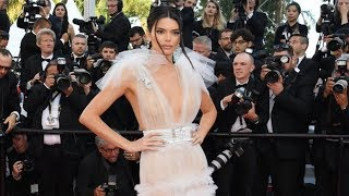 Kendall Jenner At Cannes 2018 Red Carpet