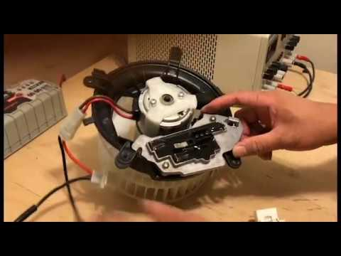 How To Replace A/C Blower Motor - Mercedes Benz 1998 E320 W210 W Ac Wiring Diagram on
