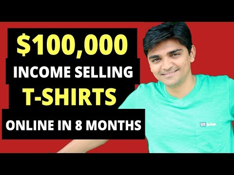 My experiences, Basics of Selling T-Shirts Online & Course Introduction