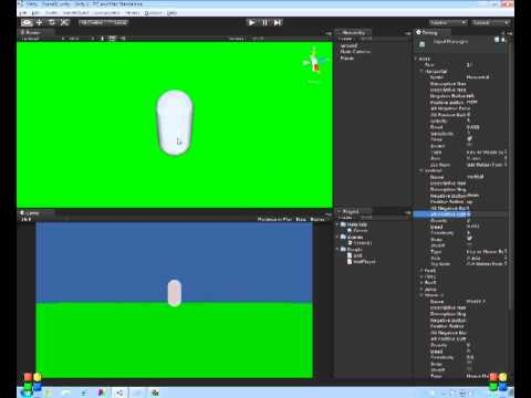 Unity Tutorial 1 - Basic player character navigation using CharacterController