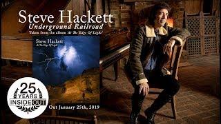 STEVE HACKETT - Underground Railroad (Album Track)