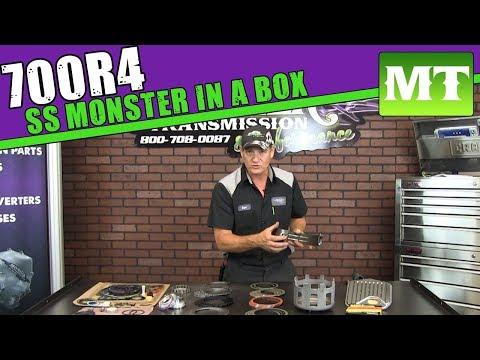 700R4 Complete Super Sport Rebuild Kit | Monster In A Box