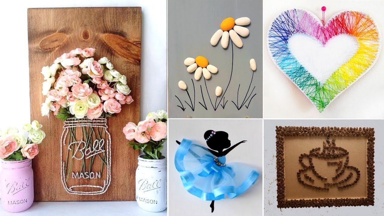 Diy Easy Room Decor Crafts