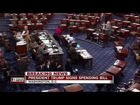 Congress votes to reopen government, passes massive budget deal