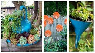 15 Detalhes para deixar seu Jardim mais Aconchegante
