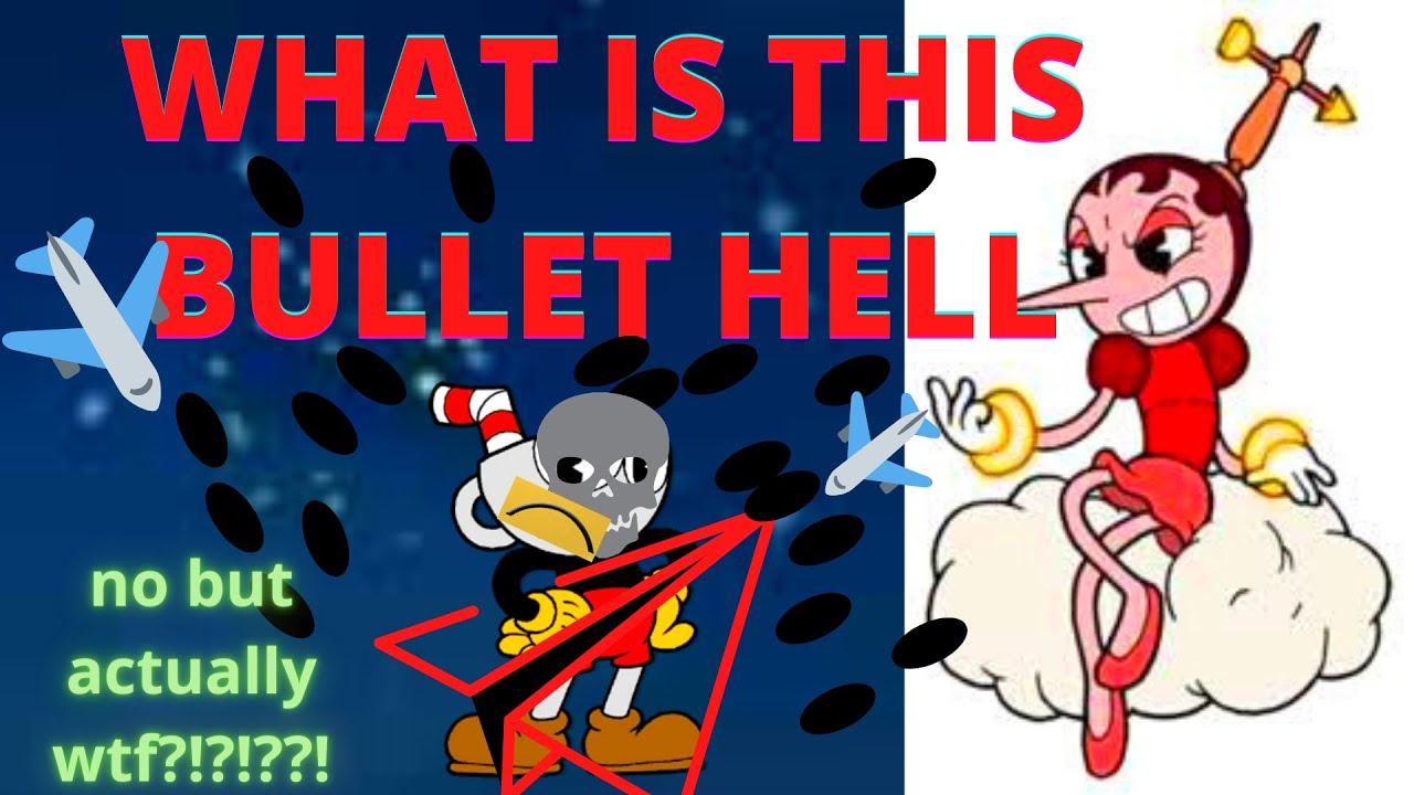 "The struggle against Hilda berg ""BULLETHELLBERG"" (cuphead peashooter only ep2)"