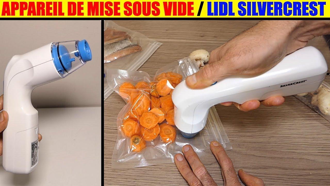 appareil mise sous vide lidl silvercrest a main handheld vacuum sealer hand vakuumierer