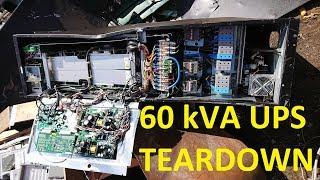 Teardown of a Eaton PowerWare 60kVA UPS system