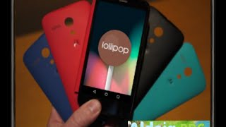 Android 5.0 LolliPop no Motorola Moto G (Rom Oficial)
