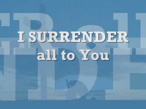 Surrender -planetshakers