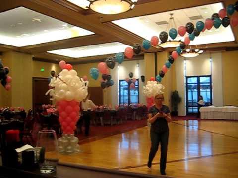 60th Birthday Balloons By Carolyn
