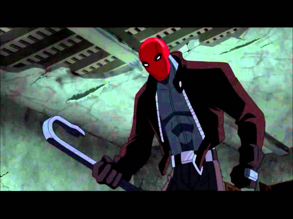 Batman Under the Red Hood- EPIC ROBIN AND JOKER SCENE (HD ...