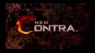 Neo Contra: Intro (PlayStation 2)
