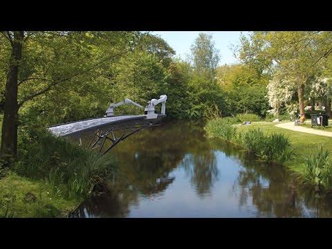 Robots To Build 3D Printed Bridge Across Amsterdam