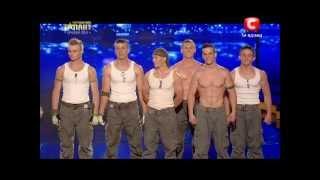 """Україна має талант-5"".Команда «SLS»  - WorkOut [4 полуфинал][11.05.13]"