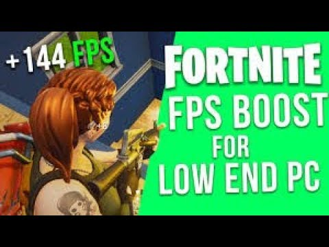 Fortnite Increase Fps Fix Stutter And Frame Drops On Low End Pc Guide  Amd And Intel