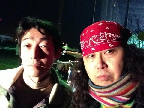 ASA YOUNG & MAHBOW OUE / DRUM REHAB AT PORT OF KOBE March16 2013