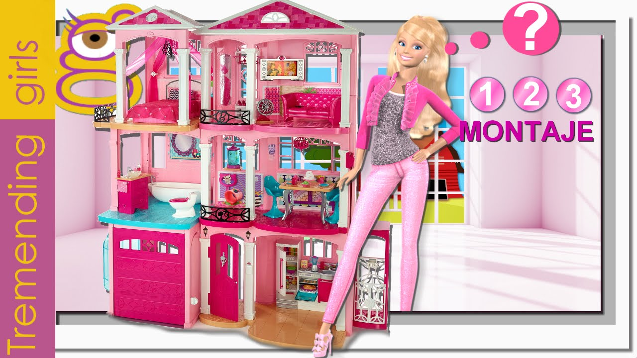C mo montar la nueva barbie dreamhouse 2015 casa sue os - Casa de barbie ...