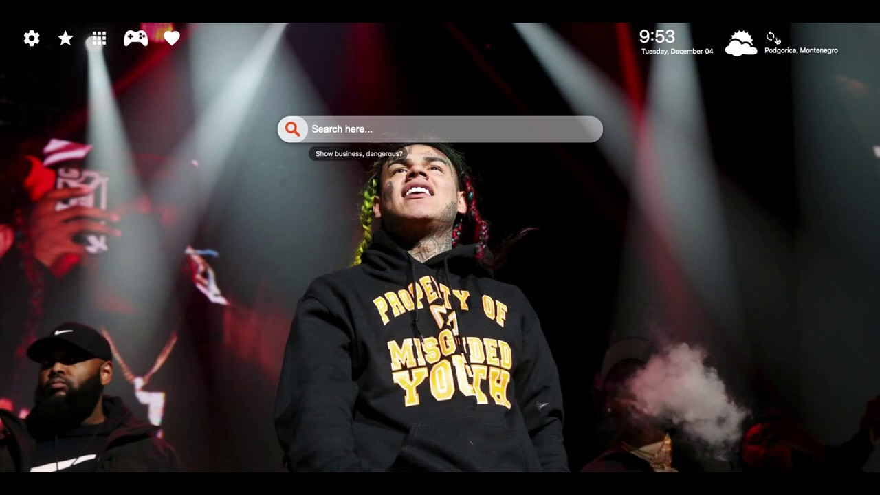 Tekashi 6ix9ine Hd Wallpapers New Tab Youtube