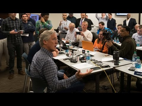Seattle Seahawks John Schneider & Pete Carroll NFL Draft Day 2 Press Conference