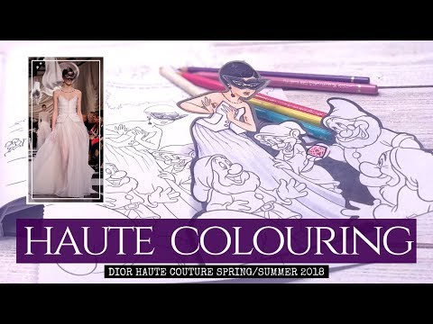 HAUTE COLOURING - Dior S/S 2008 Haute Couture Snow White