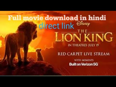 How to download the lion king full movie in hindi