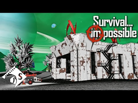 Survival Impossible - The Luck Of The Splitsie #17 - Space Engineers Hardcore Survival