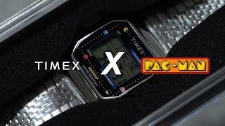 Timex T80 x PAC-MAN™ - Glimpse of The Modern Retro on Wrist