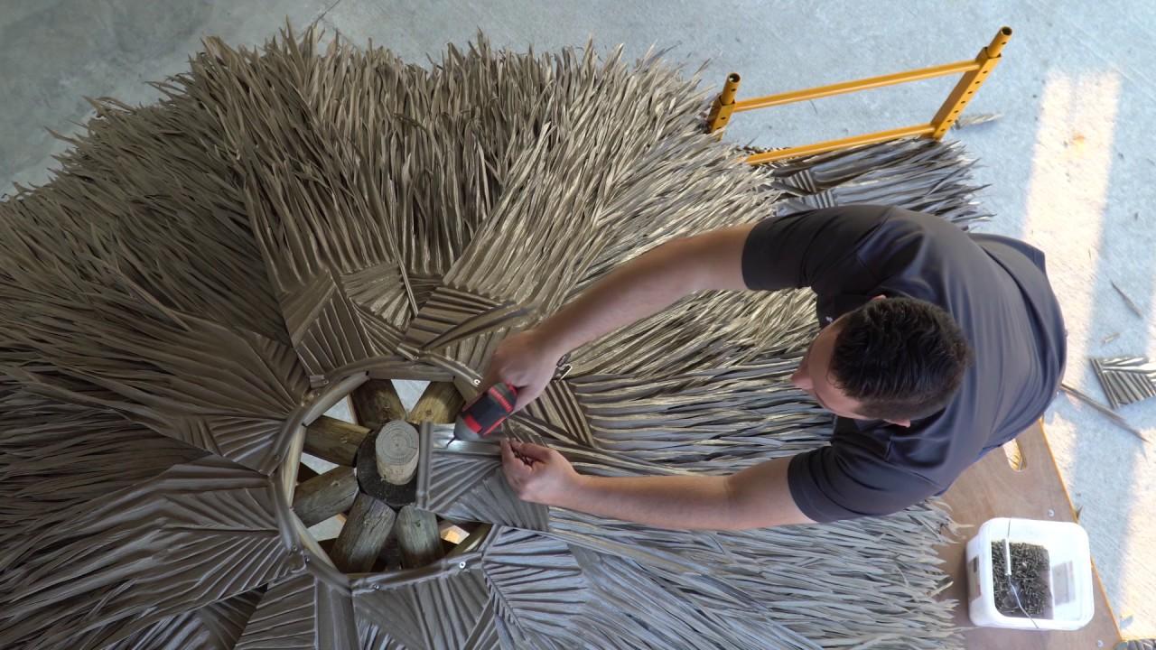Viva Palma Video De Instalaci 243 N En Sombrilla De Playa