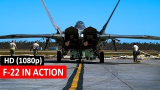 F-22 IN ACTION - F-22 IN BRANDON, SFK, UNITED KINGDOM