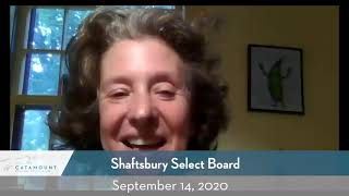 Shaftsbury Select Board // 9-14-20