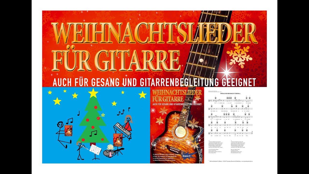 Weihnachtslieder für Gitarre - Noten - YouTube