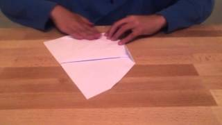 How to Fold a Master Glider Paper Plane