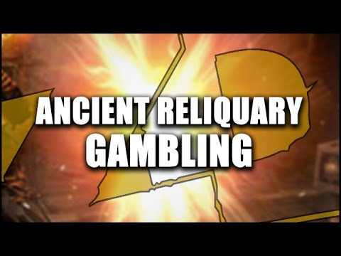 Path of Exile: ANCIENT RELIQUARY GAMBLING - The Legacy League Relic Chase Begins