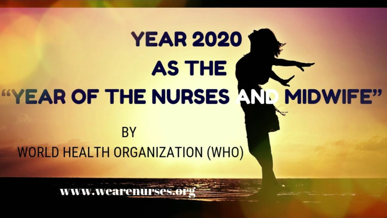 2020 year of the nurses and midwife