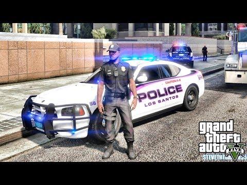 GTA 5 MODS LSPDFR 0.4.1 - EP 16 -  K9 UNIT PATROL!!! (GTA 5 REAL LIFE PC MOD)