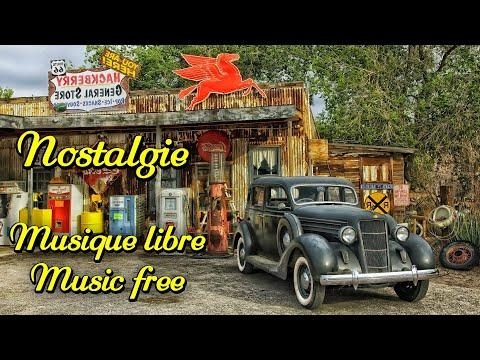 Nostalgie. Relaxing musique. Libre de droits. Copyright Free Music.