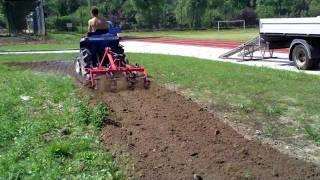 Brona aktywna Iseki TU 155 D. www.traktorki.waw.pl