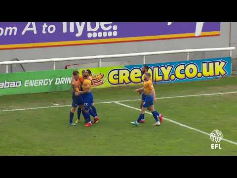 Danny Rose scores the winning goal at Exeter