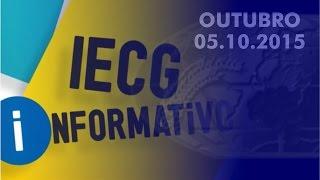 Informativo IECG - Mês Outubro/1 -  2015