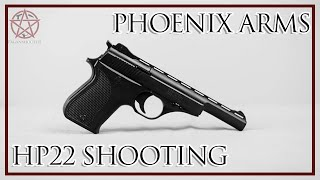 shooting and talking about the phoenix arms hp22