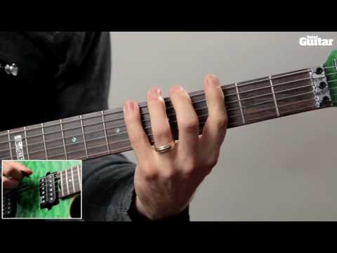 Guitar Lesson: Learn how to play Metallica - Hardwired