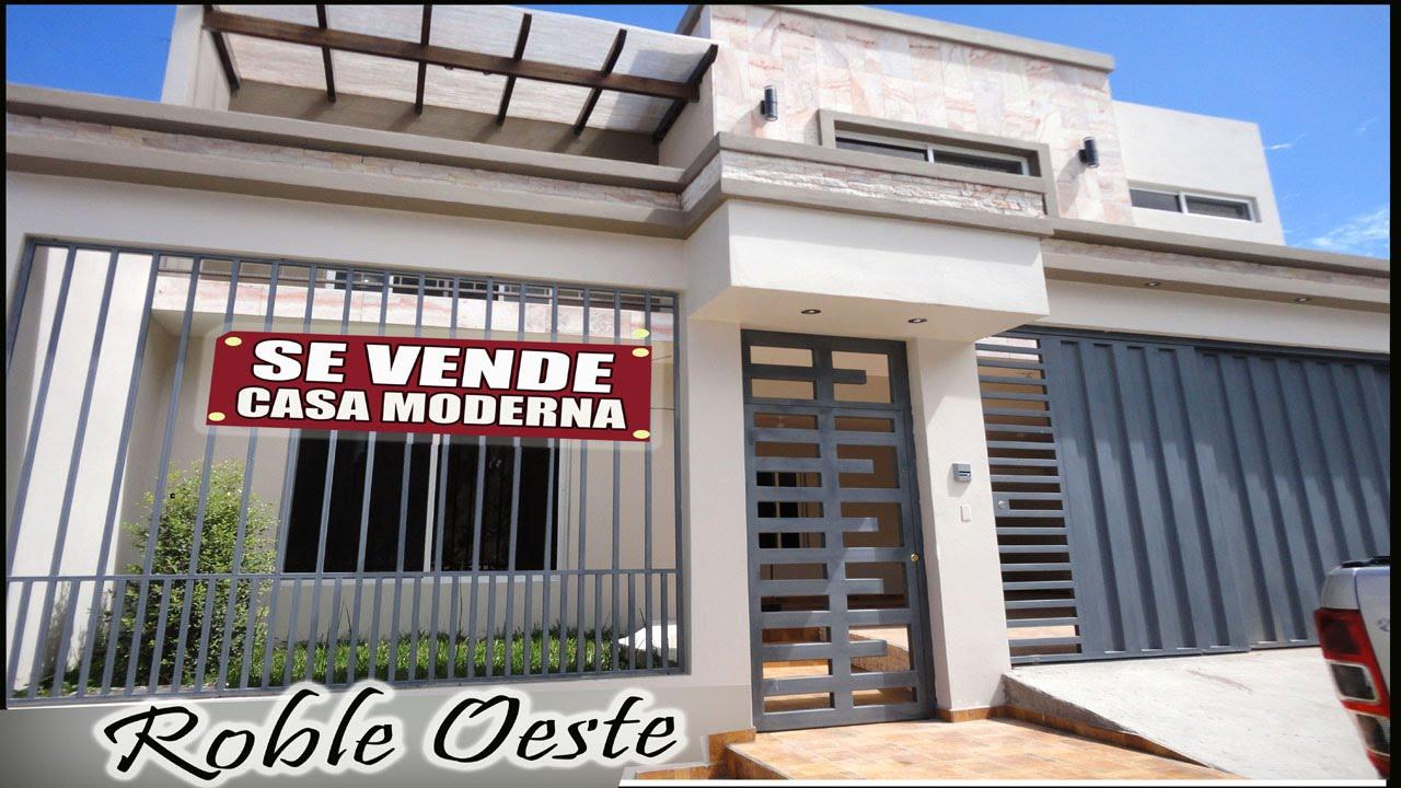 Casa Nueva Y Moderna En Venta Robleoeste Tegucigalpa Honduras