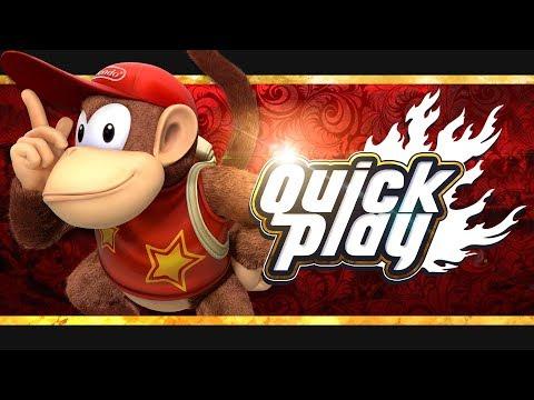 Super Smash Bros. Ultimate | Quickplay - Diddy Kong thumbnail