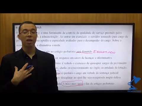 Prof. Thiago Lopes - Questão de 8.112/90 - PR4 - UFRJ