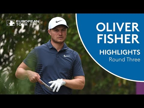 Oliver Fisher Golf Highlights | Round 3 | 2018 Commercial Bank Qatar Masters